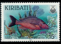Kiribati 1990 - set Fishes: 15 c