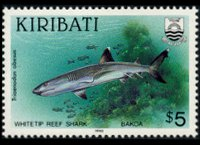 Kiribati 1990 - set Fishes: 5 $